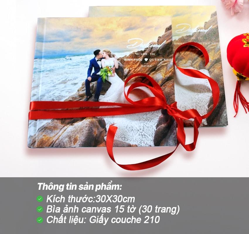 Photobook tạp chí – Bìa canvas