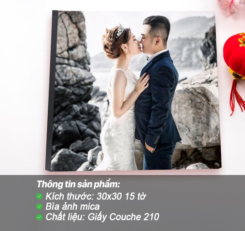 Photobook tạp chí – Bìa mica