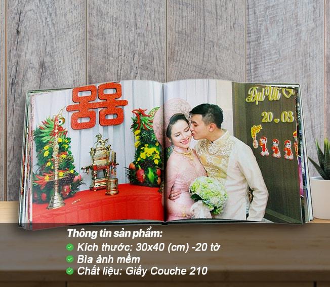 Photobook tạp chí – Bìa ảnh mềm